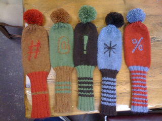 Ravelry Those Golf Club Covers Pattern By Sarah Wilson