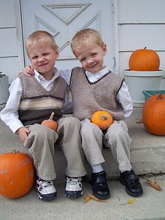 Nathaniel and Michael's vests-closeup