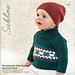 Edmund Wrap Neck Sweater pattern