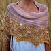 Vintage Rose Shawl pattern