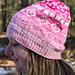 Gradient Pink Hat pattern