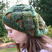 Knitted Entrelac Tam pattern