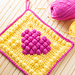 Bobble Heart Potholder pattern