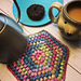 Puff Stitch Trivet pattern