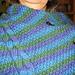 Aran Tweed Wrap pattern