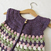 Granny Stripe Cardigan pattern