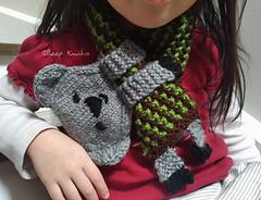 Koala Keyhole Scarf