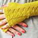 Gia fingerless gloves pattern