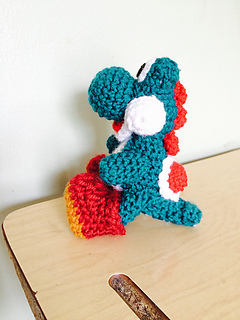 Yoshi free crochet pattern   320x240