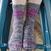 Quadratrix Socks pattern