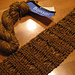 Double Wrap Stitch Scarf pattern