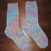 Sherbet Stripe Socks pattern