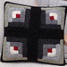 Log Cabin Cushion pattern