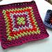 Spiky Granny Square pattern