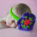 Flower and Headband pattern