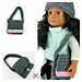 18 inch Doll - My Dolly Edgy Messenger Bag pattern