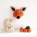 Fox Faux Taxidermy Head pattern