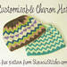 Customizable Chevron Hat pattern