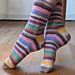 Candy Kisses Socks pattern