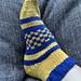 Checkerboard Dorm Socks pattern