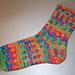Lonely Socks Club: Fair Isle Sock pattern