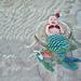Mermaid Cocoon / Photo Prop pattern
