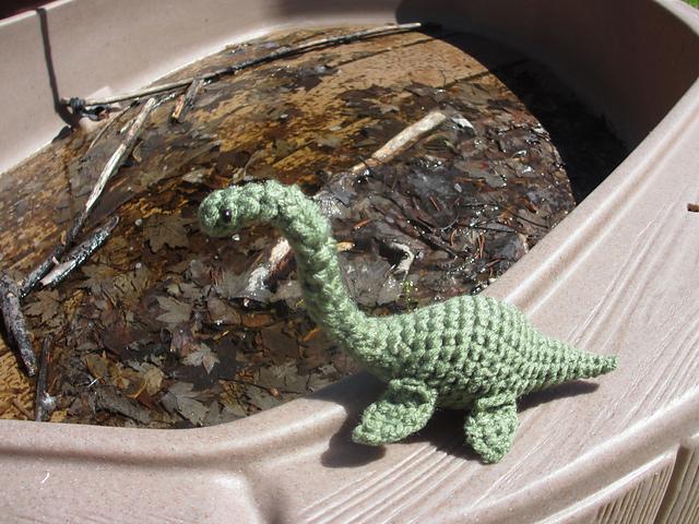 Nessie the Loch Ness Monster amigurumi pattern - Amigurumipatterns.net | 480x640