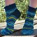 At the Circus Socks pattern