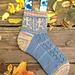 Dancing Skeleton Socks pattern