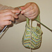 Jaywalker Wrist Yarn Holder pattern
