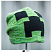 Creeper Update (minecraft hat for grownups) pattern