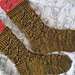 A False Color Socks pattern