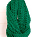 Ribbed Infinity Scarf pattern