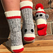 Sock Monkey Socks pattern