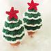 Flocked Christmas Tree pattern