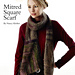 Mitred Square  Scarf pattern