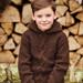 Hooded Aran Sweater 2508 pattern