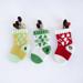 Week 4: Poinsettia Stockings pattern