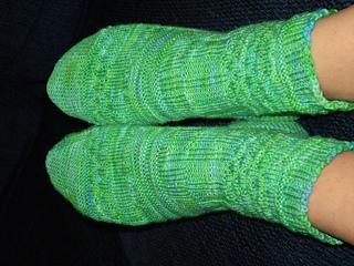 finished mojo socks