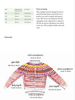 Schematic for sizes 2X-5X
