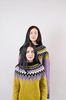 Kordy pattern by Kiyomi Burgin and Sachiko Burgin