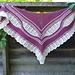 Aeshna Shawl pattern