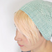 Triangle Texture Hat pattern