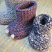 Midwife Booties pattern