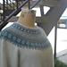 Blue Shimmer Pullover - Blå Skimmer pattern