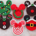 Set of 6 Christmas Ornaments pattern