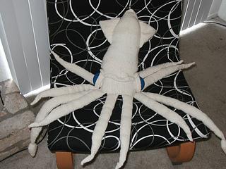 (Not so) giant squid surveys his territory