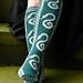 Slytherin Pride Socks pattern