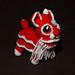Tiny Chinese Lion pattern