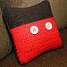 Mickey Mouse Throw Pillow pattern